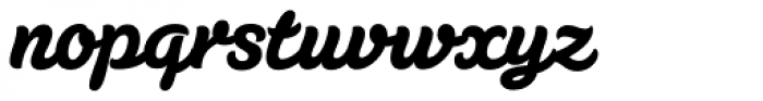 Susa Heavy Font LOWERCASE