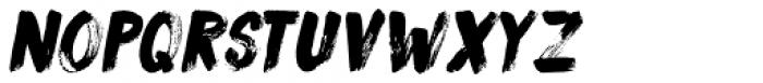 Sushi Bar Italic Font UPPERCASE