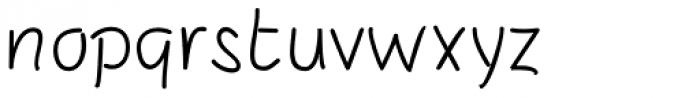 SusiScript Font LOWERCASE
