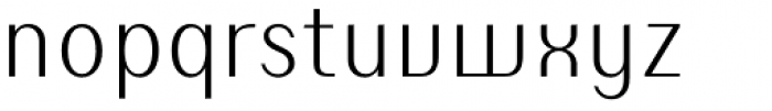 Susie Light Font LOWERCASE