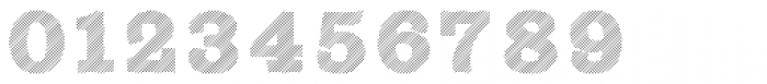 Sutro Shaded Hatching Font OTHER CHARS