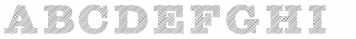Sutro Shaded Hatching Font LOWERCASE