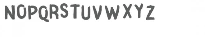 Surprise Party Brush Font LOWERCASE
