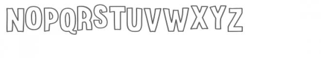 Surprise Party Line Font LOWERCASE