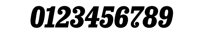 Sunday Clarendon Bold Italic Font OTHER CHARS