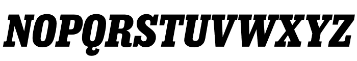 Sunday Clarendon Bold Italic Font UPPERCASE