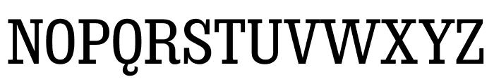 Sunday Clarendon Medium Font UPPERCASE