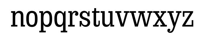 Sunday Clarendon Medium Font LOWERCASE