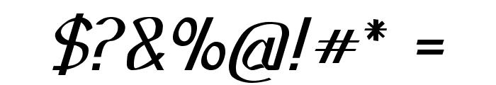 Sundowner-Bold Font OTHER CHARS