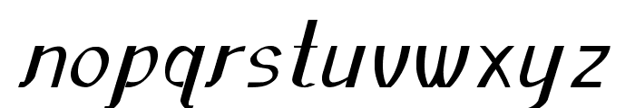 Sundowner-Bold Font LOWERCASE