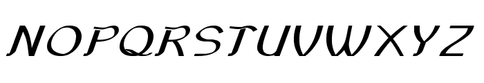 Sundowner-ExpandedBold Font UPPERCASE