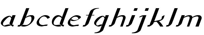 Sundowner-ExpandedBold Font LOWERCASE