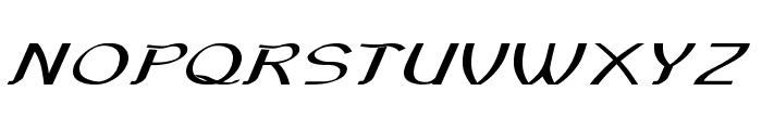 Sundowner-ExtraexpandedBold Font UPPERCASE
