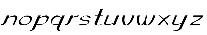 Sundowner-ExtraexpandedRegular Font LOWERCASE
