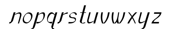 Sundowner Font LOWERCASE