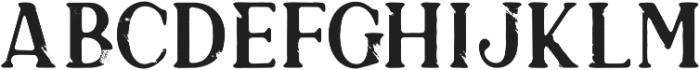 SVG otf (400) Font LOWERCASE
