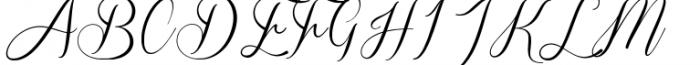 Sverige Script Clean Font UPPERCASE