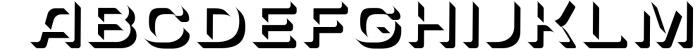SVG color font - Arco 3 Font UPPERCASE