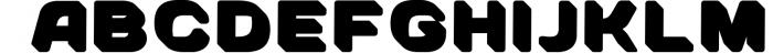 SVG color font - Arco 4 Font UPPERCASE