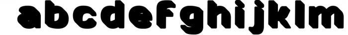 SVG color font - Arco 4 Font LOWERCASE