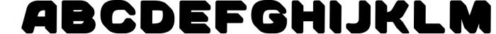 SVG color font - Arco 5 Font UPPERCASE