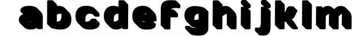 SVG color font - Arco 5 Font LOWERCASE