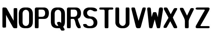 SV Basic Manual Bold Font UPPERCASE