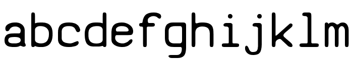 SV Basic Manual Font LOWERCASE