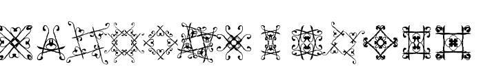 SVGfont 1 Font LOWERCASE