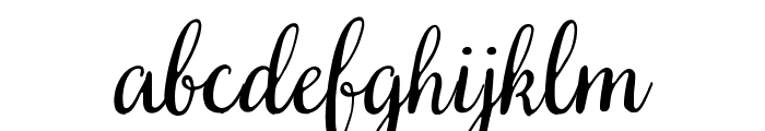 SVN-Very Berry Font LOWERCASE
