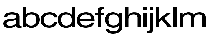Sveningsson Font LOWERCASE
