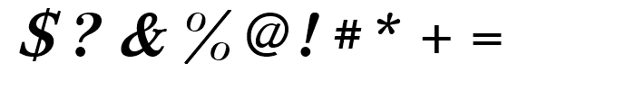 Svetlana Bold Italic Font OTHER CHARS