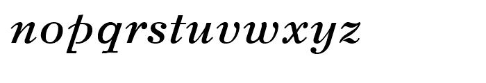 Svetlana Bold Italic Font LOWERCASE