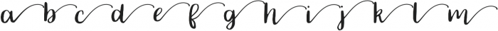 SWSH otf (400) Font LOWERCASE