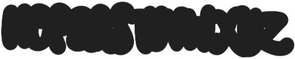 Swaylea Outline otf (400) Font UPPERCASE