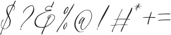 Swaziland-Regular otf (400) Font OTHER CHARS