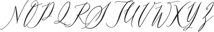 Swaziland-Regular otf (400) Font UPPERCASE