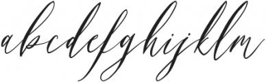 Swaziland-Regular otf (400) Font LOWERCASE