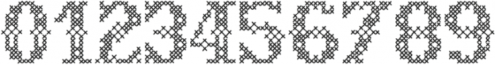 Sweater Decorative otf (400) Font OTHER CHARS