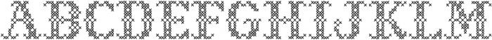 Sweater Decorative otf (400) Font UPPERCASE