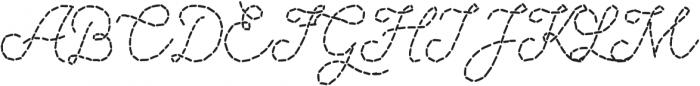Sweater Script otf (400) Font UPPERCASE