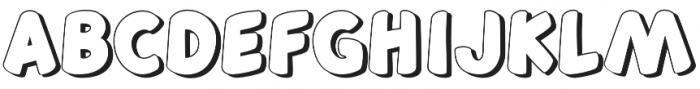 Sweeneey otf (400) Font UPPERCASE