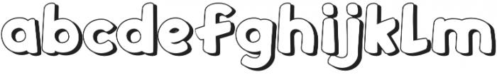 Sweeneey otf (400) Font LOWERCASE