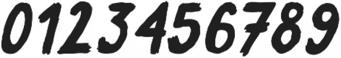Sweeper Slanted otf (400) Font OTHER CHARS