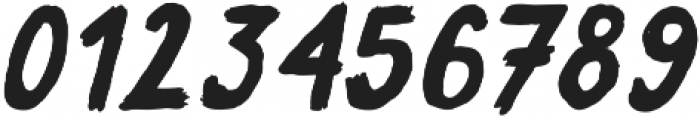Sweeper Slanted ttf (400) Font OTHER CHARS