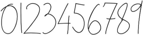 Sweet Blush Alt Regular otf (400) Font OTHER CHARS