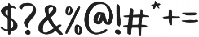 Sweet Buttermilk Sans otf (400) Font OTHER CHARS