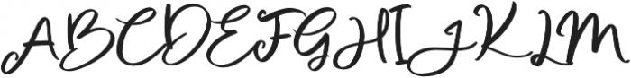 Sweet Buttermilk Script otf (400) Font UPPERCASE