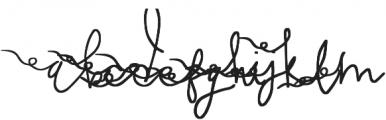 Sweet Dreamer Swashes otf (400) Font UPPERCASE