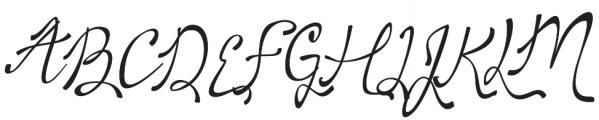 Sweet Girl otf (400) Font UPPERCASE